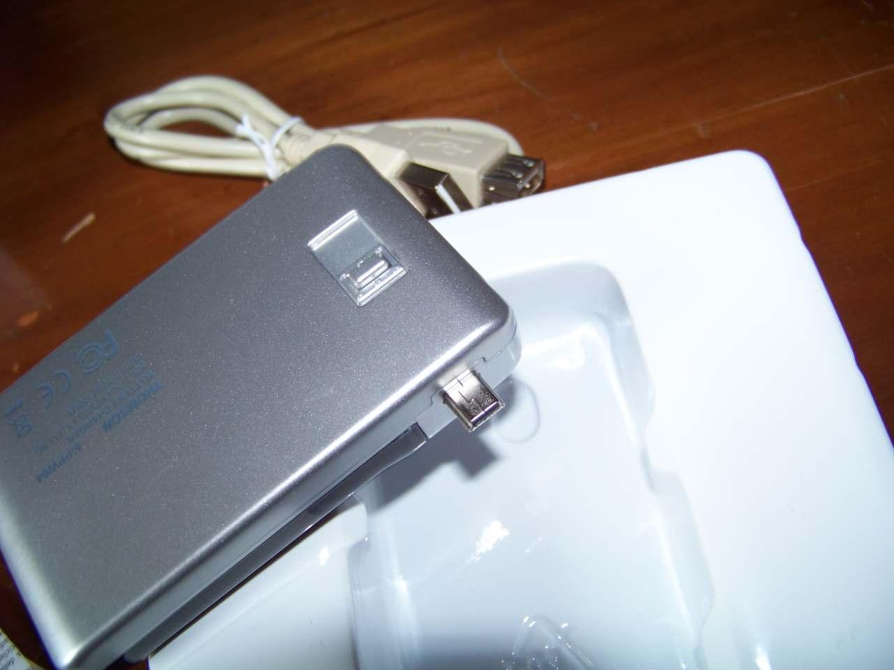 Chargeur autonome pour téléphone mobile ...  Thomson-mppw04-03
