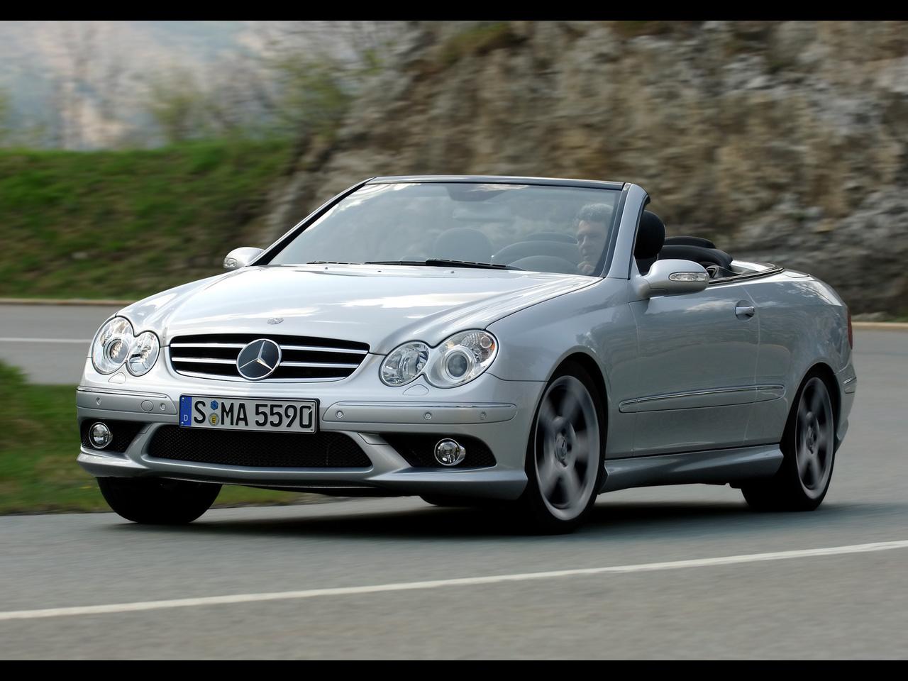 [Photos] Galerie : Les Beaux CLK (C209 & A209) pour le plaisir des yeux   2007-Mercedes-Benz-CLK-500-Cabriolet-SA-1280x960