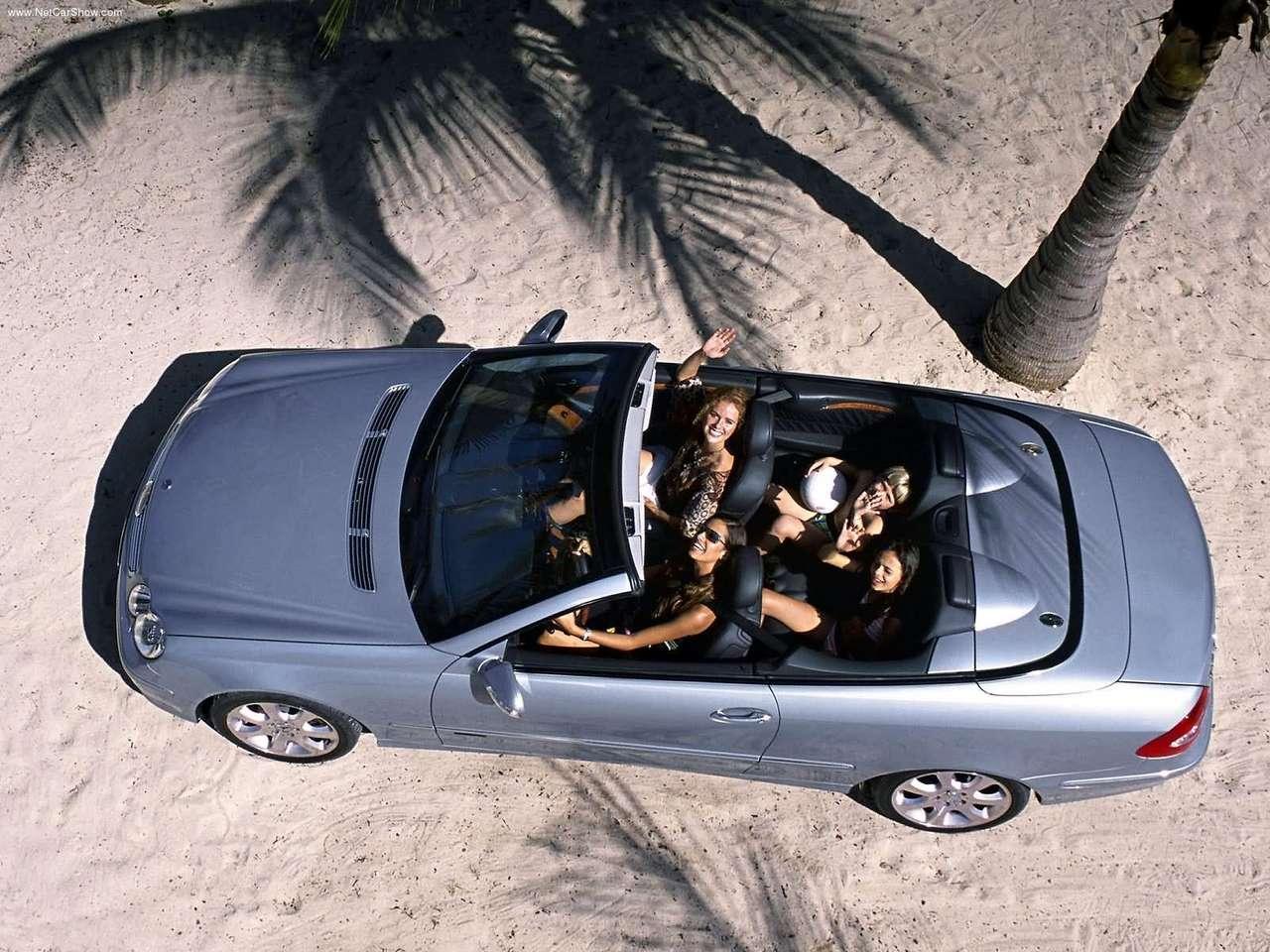 [Photos] Galerie : Les Beaux CLK (C209 & A209) pour le plaisir des yeux   Mercedes-Benz-CLK_Cabriolet_2004_1280x960_wallpaper_05